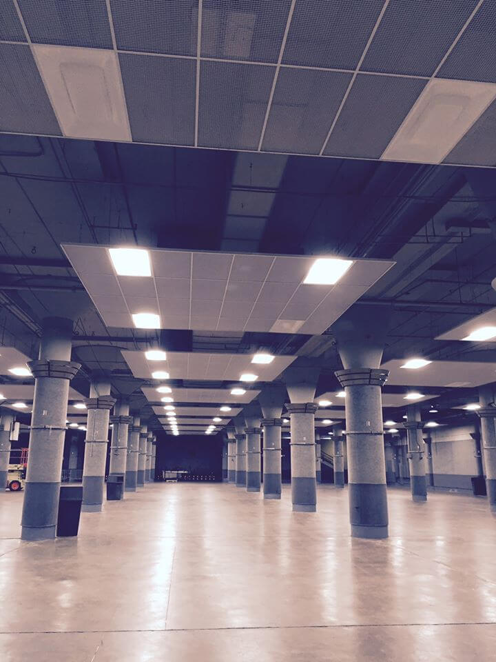 Roy Wilkins Exhibition Hall Undergoes Lighting Upgrade
