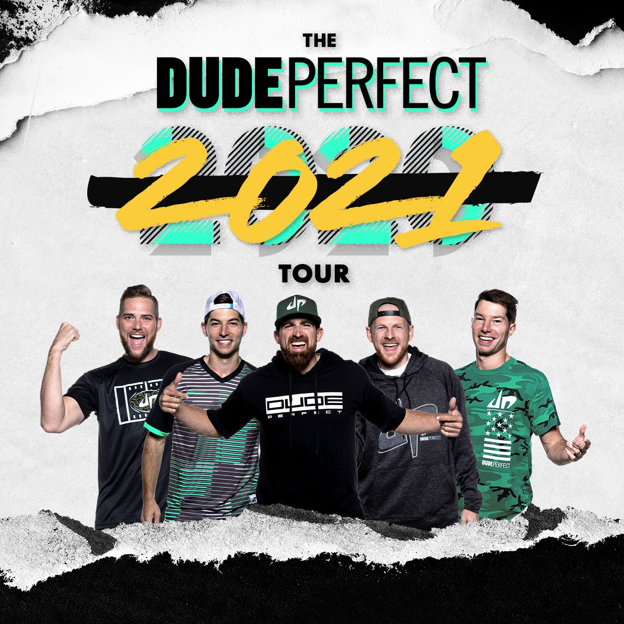 Rescheduled - Dude Perfect