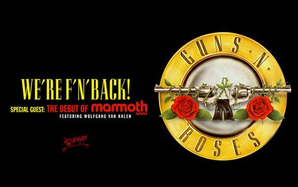 More Info for Guns N' Roses
