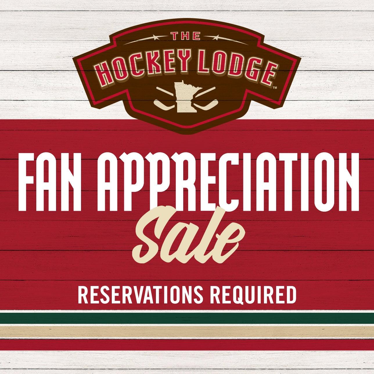 Hockey Lodge Fan Appreciation Sale