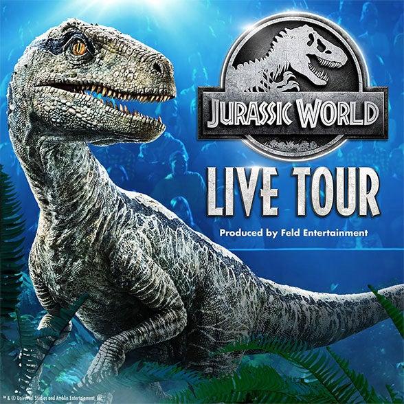 More Info for Jurassic World Live Tour