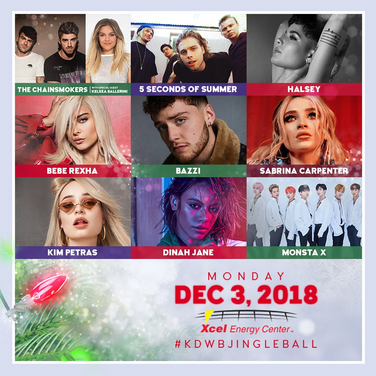 101.3 KDWB's Jingle Ball