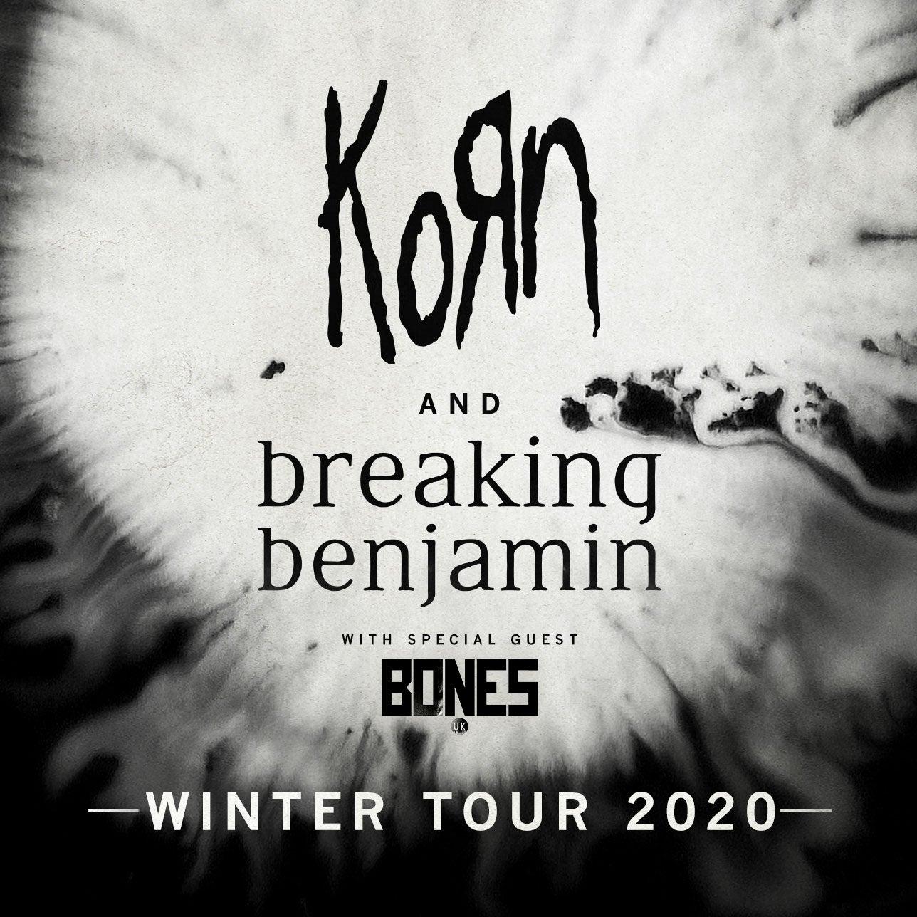 Breaking Benjamin New Album 2020.Korn And Breaking Benjamin Xcel Energy Center