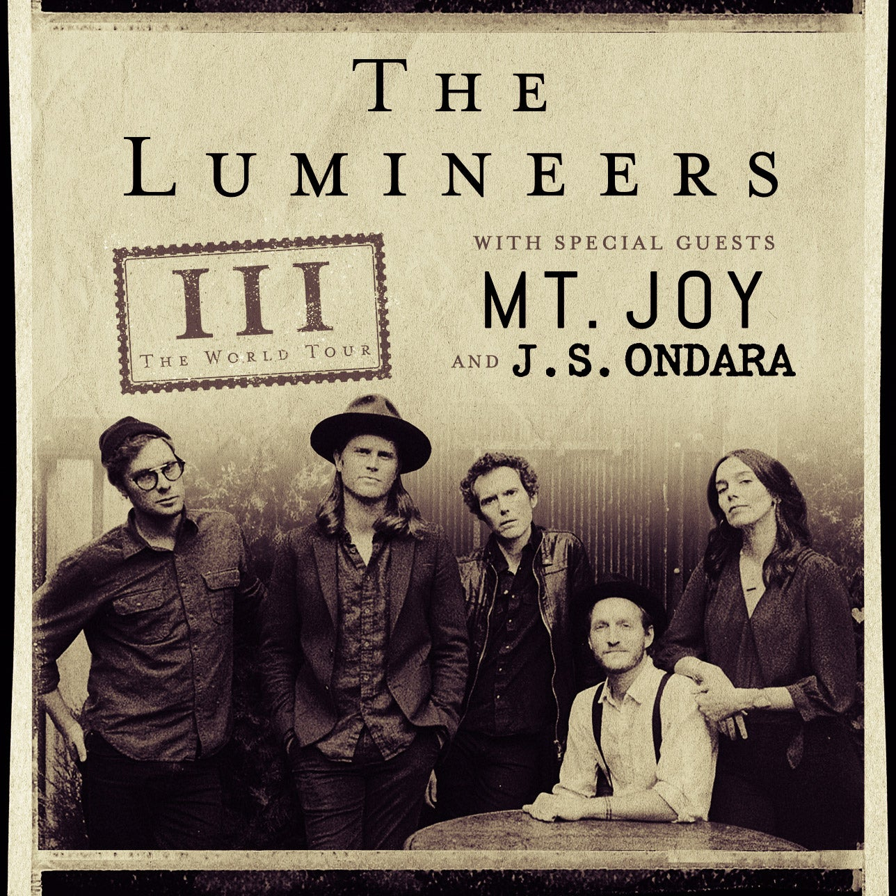 Postponed – The Lumineers – New Date TBD