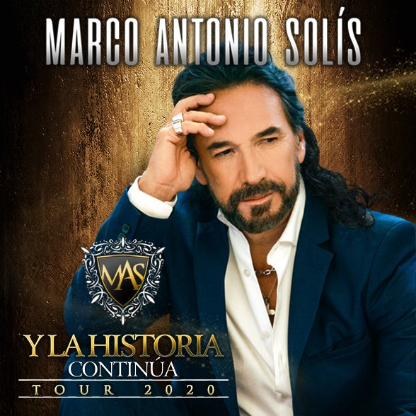 More Info for Rescheduled - Marco Antonio Solís