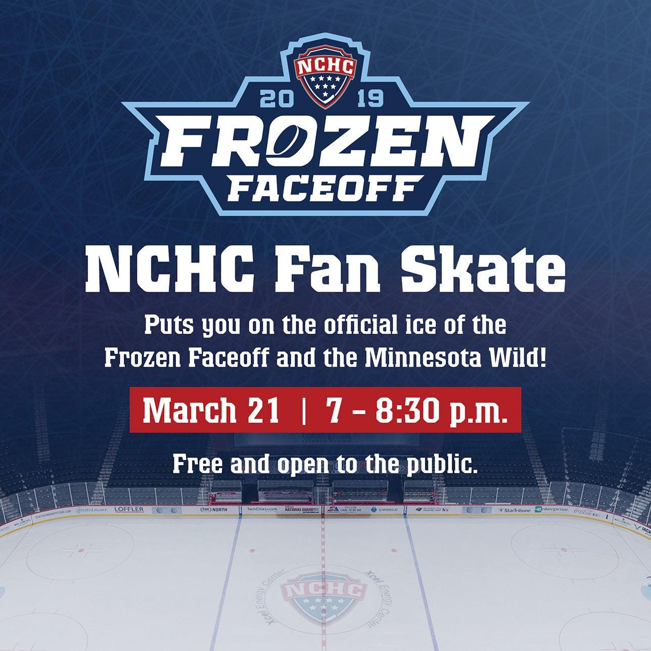 NCHC Fan Skate