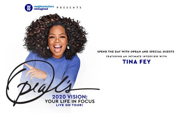 More Info for WW Presents Oprah's 2020 Vision: Your Life in Focus