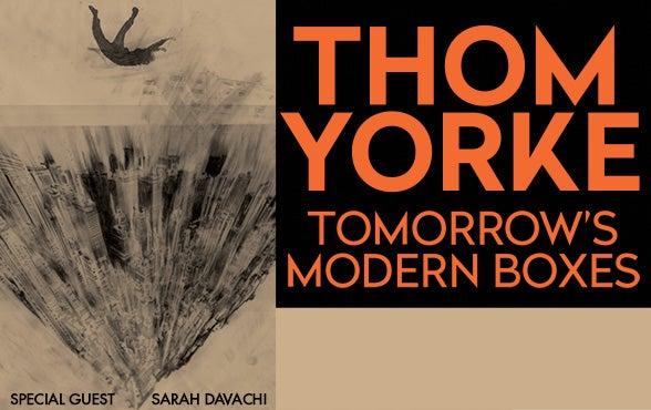 More Info for Postponed - Thom Yorke