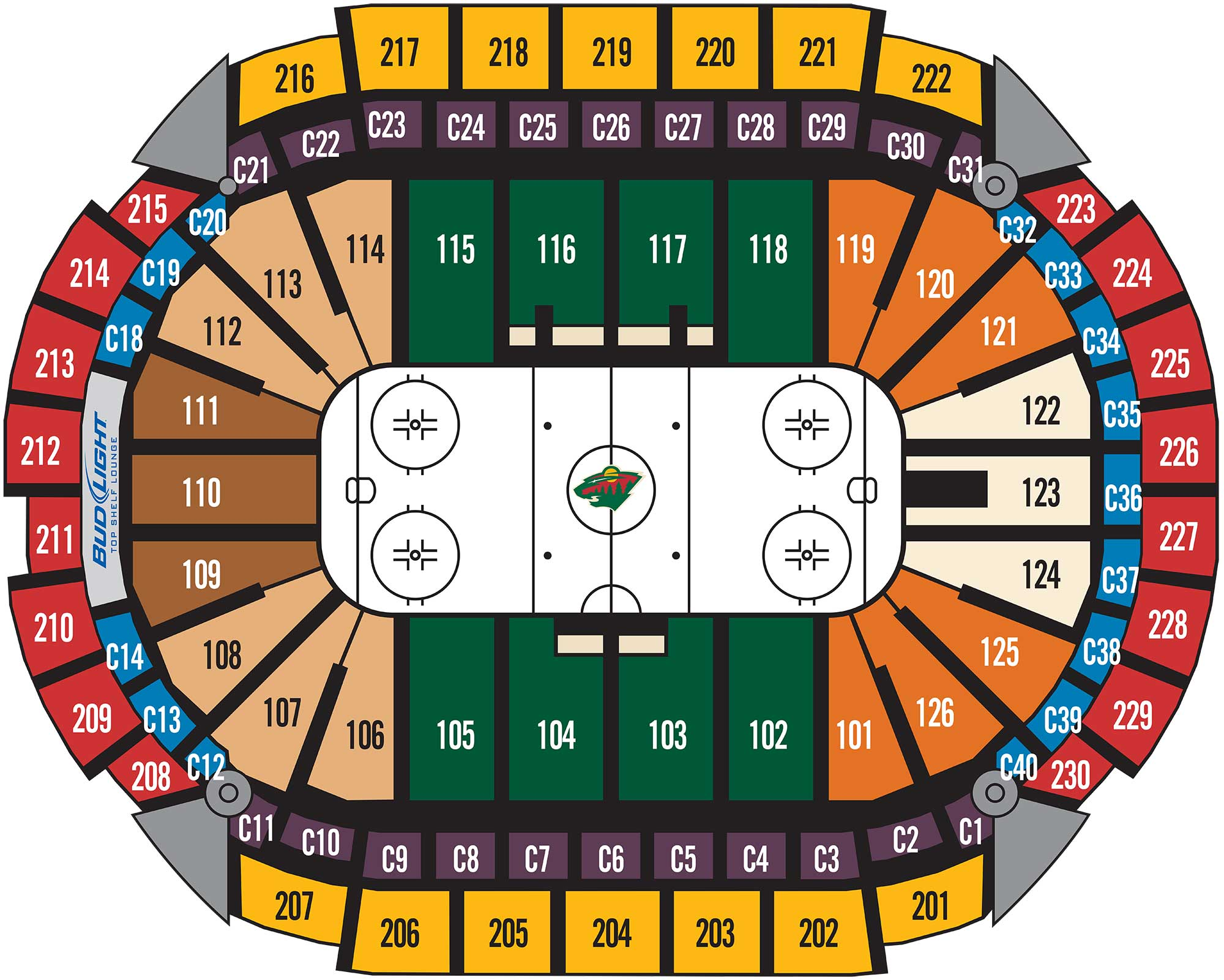 It is a graphic of Légend Minnesota Wild Printable Schedule